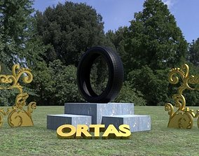 3D asset ORTAS TIRE PACK 1 INCLUDING 5 GAME READY