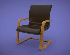 3D model modern Visitor Chair