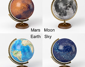 3D model Globe Collection