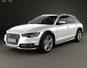 3D model Audi A6 C7 allroad quattro 2012