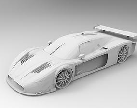 MazaratiMC12 3D print model