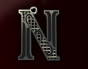 alphabet Alphabet Pendant 3D printable model