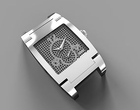 De Grisogono watch - bracelet 3D print model