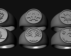 3D print model Ravnica Signets