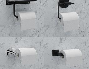 3D model Toilet Paper Holder Pack