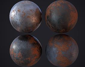3D model Rusty Metal