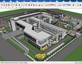 Sketchup school G8 3D