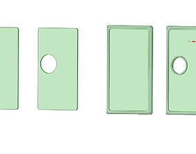 3D printable model Billetbox Panels rev 4 Dual Color