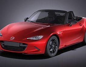3D Mazda MX-5 2016 VRAY