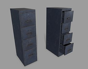 3D asset realtime Cabinet stand