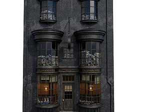 Ollivanders Wand Shop 3D model