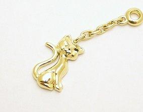 3d model cat jewelry