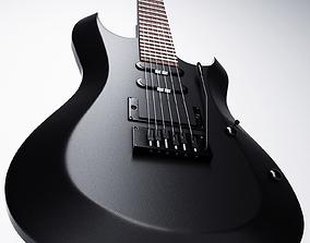 Electeric Guitar 3D model