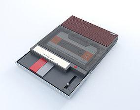 realtime tape Cassette Recorder 3D model