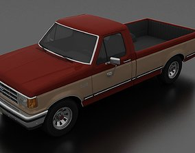 F-150 XLT Lariat Pickup Regular Cab 3D model