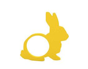 bunny Napkin ring 3D print model