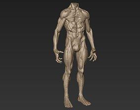 Creature Body Sculpt 8 3D model