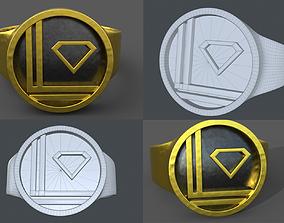 Luthor-El Ring 3D printable model