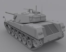 Tank Sting Ray armoured 3D model