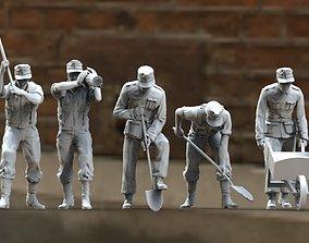 3D printable model ww2 German soldiers