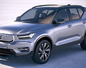 Volvo XC40 Recharge 2020 3D model