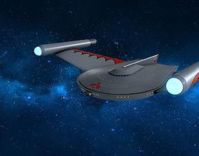 3D model The Romulan Birds of Prey starships