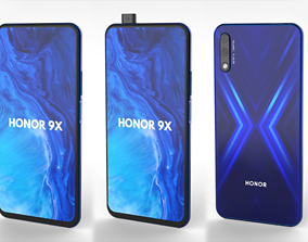 3D model Huawei Honor 9X