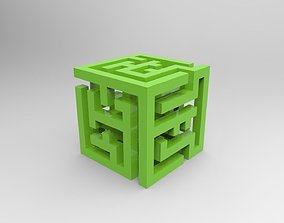 abstraction cube 3D printable model
