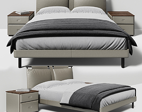 BED POLTRONA FRAU TIMES 3D model