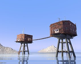 Maunsell fort 3D model