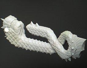 Meliodas sword Dragon Handle 3D print model