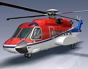 Sikorsky S92 3D model