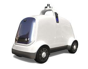 3D asset Delivery Dron Nuro R1