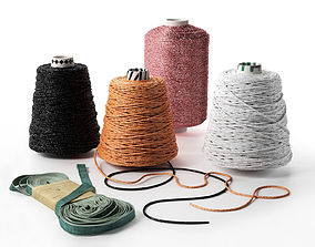 3D Threads and Ribbon
