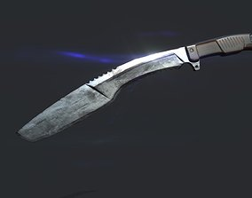 3D model HQ Kukri Knife