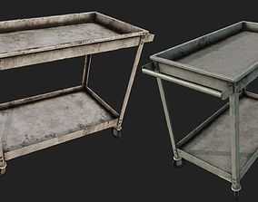 3D model Rusty Push Cart 2 PBR