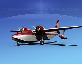 3D Grumman G-73 Mallard V03