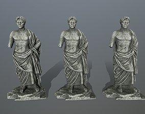 statue pompee 3D model