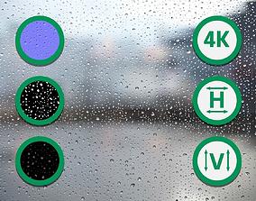 Raindrops Texture 2 3D