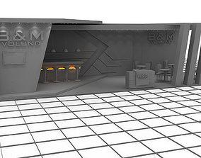 3D model B M2 Exhibition Stand Design