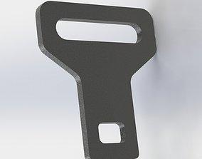 Seat Belt Dummy Buckle 3D printable model