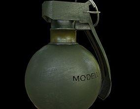 realtime HG 85 Hand Grenade model