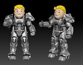 VAULT BOY in T60 Armor 3D Print