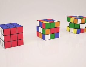 Rubik Cube 3D model rubik