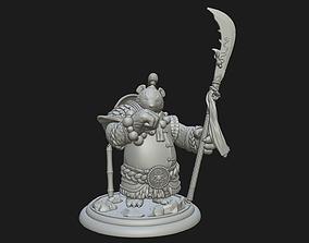 3D printable model Panda Warrior - Fan Art