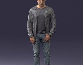 Man posed 0815 3D Print Ready