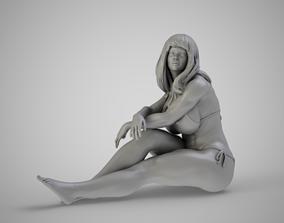 3D print model Girl in the Window
