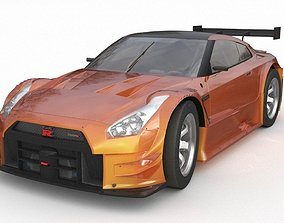 Nissan gtr r35 nismo edition 2017 3D model