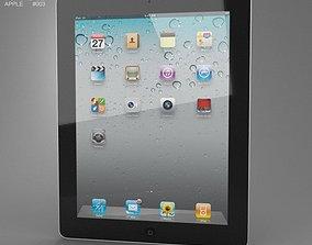 Apple iPad 2 WiFi 3D asset