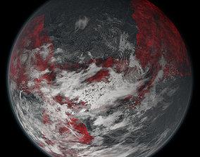 Volcanic Planet 02 3D model